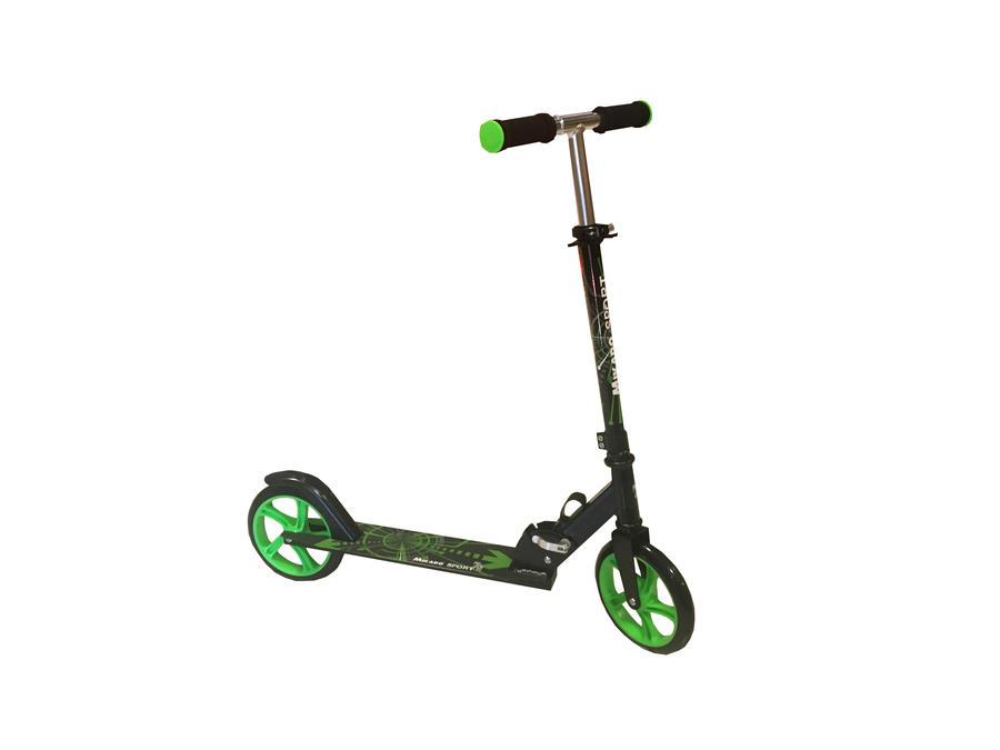 Monopattino scooter con ruote da 200 mm - Mikado Sport 60528 - Verde
