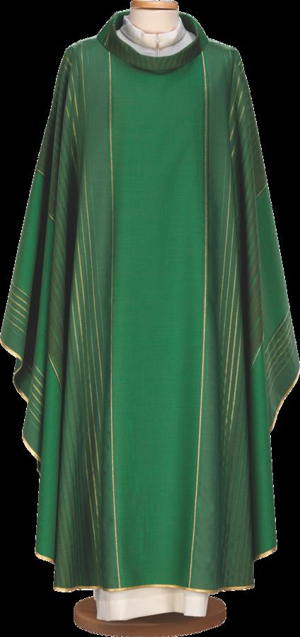 Casula in lana lurex rigata