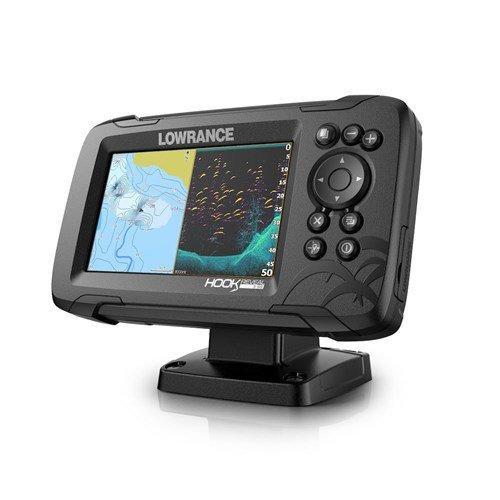 Ecoscandaglio GPS Lowrance Reveal 5 con Trasduttore 50/200 ROW & Mappa Base - Offerta di Mondo Nautica 24