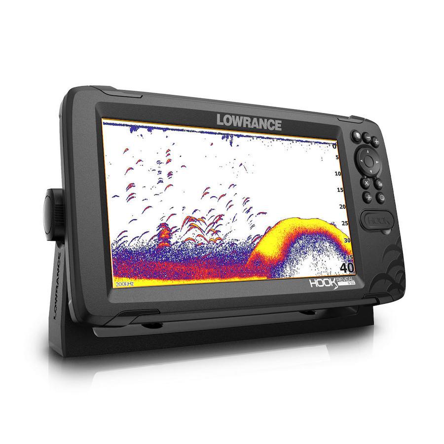 Ecoscandaglio GPS Lowrance Reveal 9 con Trasduttore 50/200 ROW & Mappa Base - Offerta di Mondo Nautica 24