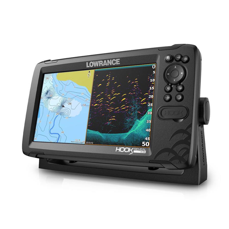 Ecoscandaglio GPS Lowrance Reveal 9 con Trasduttore TRIPLESHOT & Mappa Base - Offerta di Mondo Nautica 24