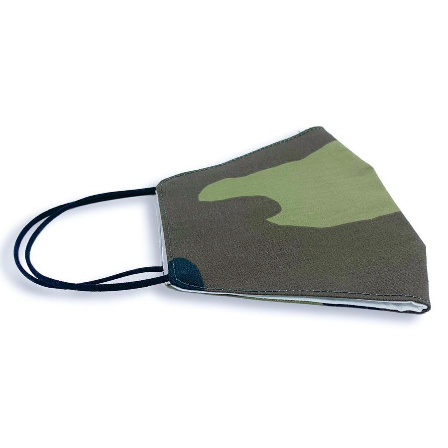 Mascherina lavabile Adulto - 100% Cotone - Camouflage