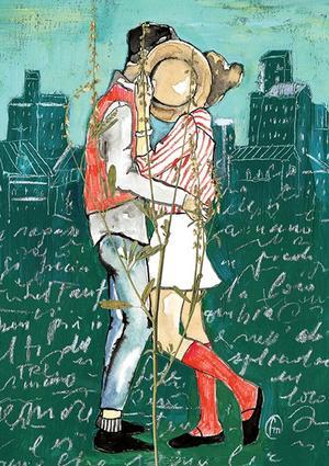 Francesca Mariani, Stampa firmata: Hidden Kiss.