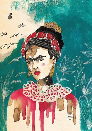 Francesca Mariani, Stampa firmata: Frida Kahlo.