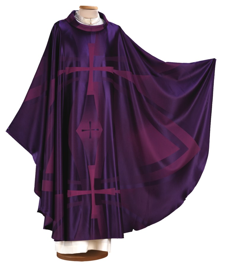 Chasuble in jacquard fabric Cod. 65/000521