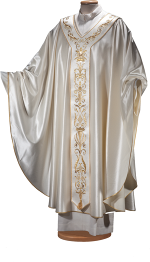 Chasuble in wool and silk Cod. 65/041320