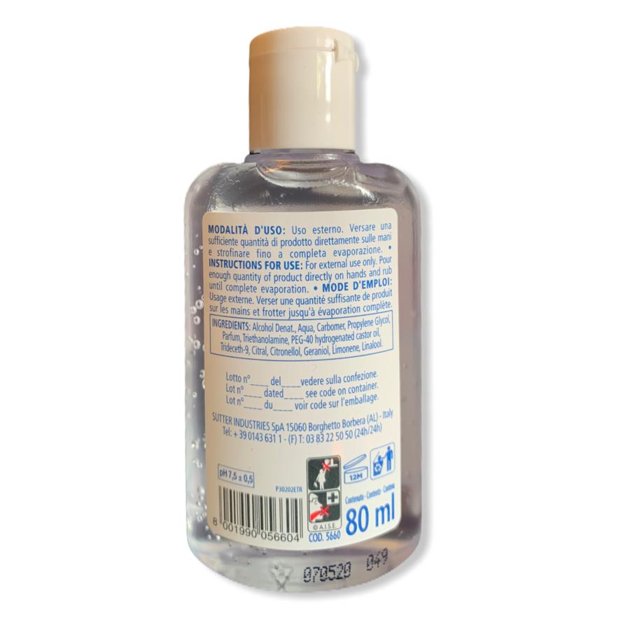 Sutter Dermogel - Gel Mani Igienizzante - 80ml