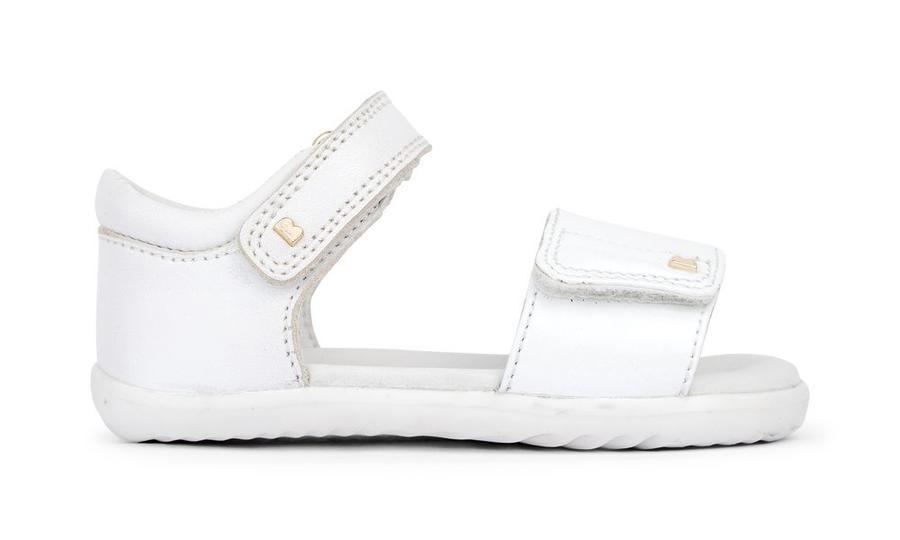Bobux - Step Up - Fizz - White