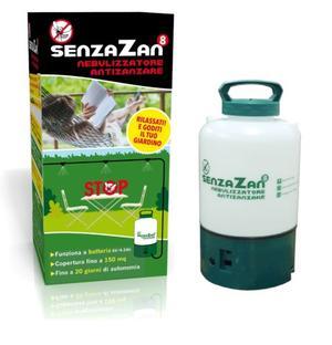 SenzaZan Nebulizzatore Antizanzara 8 Lt