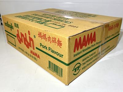MM INSTANT NOODLES PORK FL 30X60GR