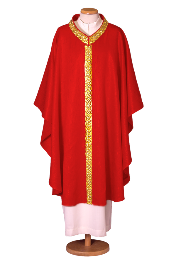 Chasuble in wool lurex Cod. 65/017681