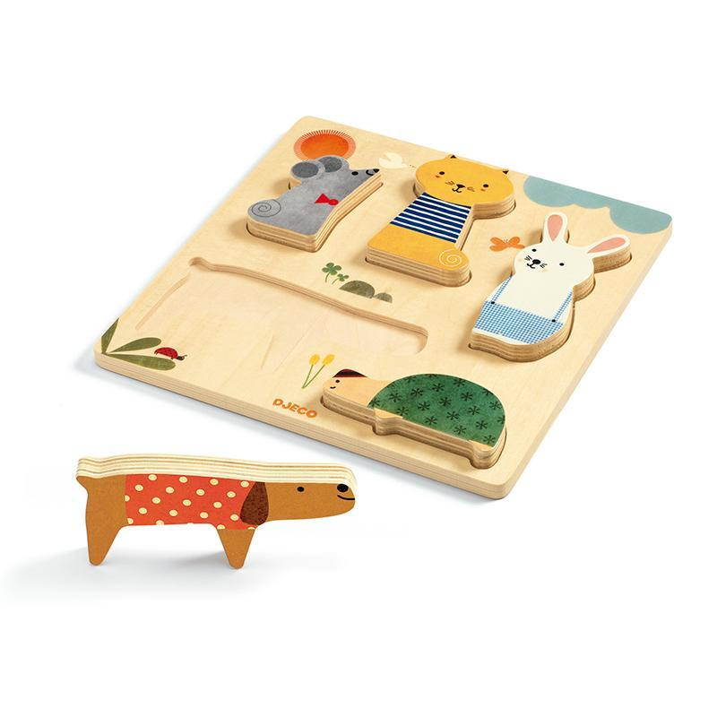Puzzle in legno WoodyPets