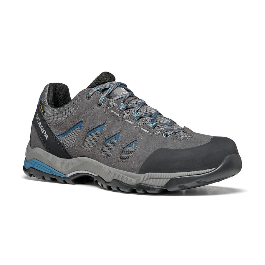 SCARPA - Moraine GTX - Gray-Storm Gray-Lake Blue