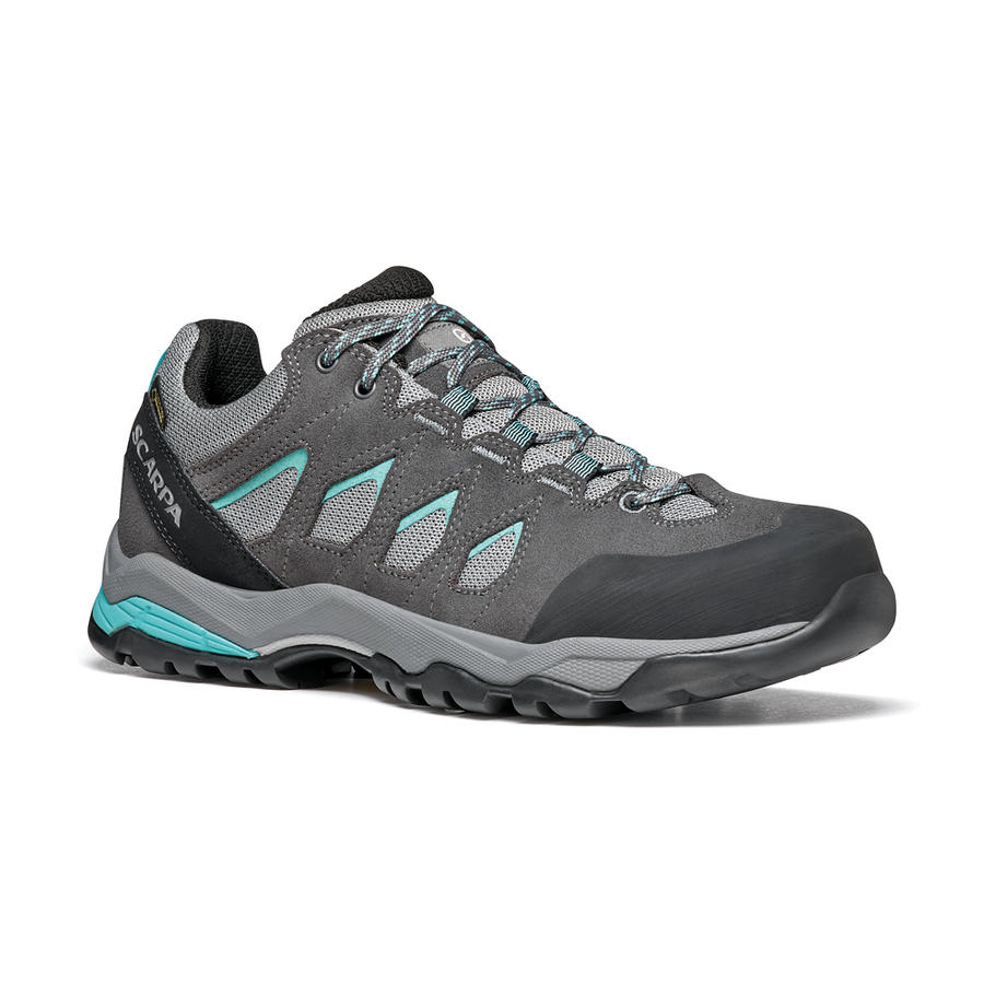 SCARPA - Moraine GTX Woman- Midgray-Storm Gray-Lagoon Green