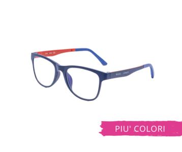 Montatura in plastica OcchialeAmico OSRC03 - Lenti neutre Blu Protect incluse -