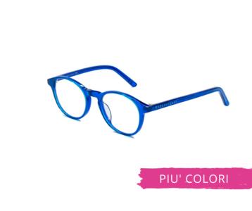Montatura in plastica Ottici Shop OSRC05 - Lenti neutre Blu Protect incluse
