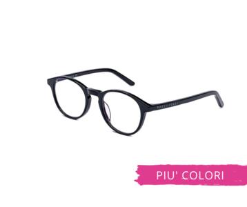 Montatura in plastica OcchialeAmico OSRC05D - Lenti neutre Blu Protect incluse