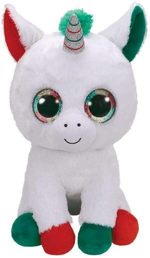 Candy Cane Unicorno - Peluche 42 cm - Ty Beanie Boos 487 - 12+ mesi