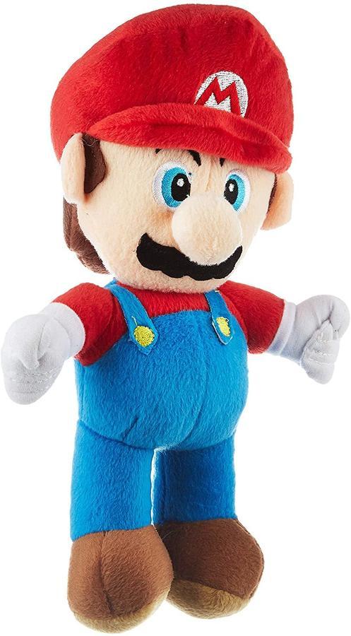 Peluche Mario Bros Mario Yoshi - Nintendo 24530A - 27cm