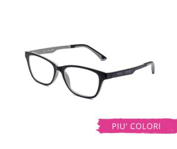 Montatura in plastica OcchialeAmico OSRC02 - Lenti neutre Blu Protect incluse