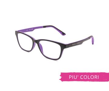 Montatura in plastica OcchialeAmico OSRC02D - Lenti neutre Blu Protect incluse