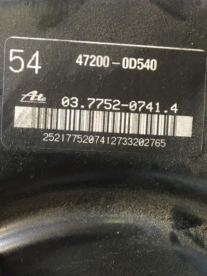 Servofreno completo Toyota Yaris - 03.7752-0741.4 - 03775207414 - 037752-07414
