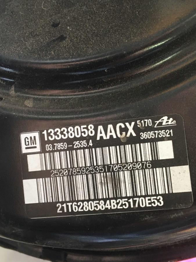 Servofreno completo Opel Astra J - 13338058AACX
