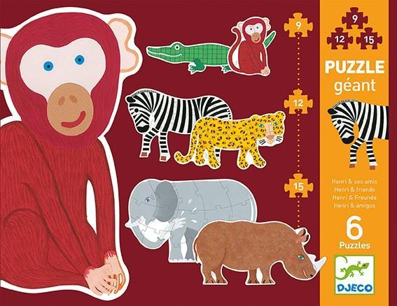 Puzzle Gigante Henri & i suoi amici