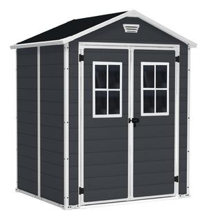 Casetta da Giardino Manor 6x5 Dark Grey