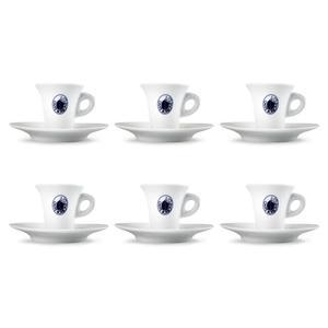 6 TAZZINE DA CAFFE' BORBONE
