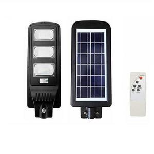 Lampione stradale led 90w pannello solare fotovoltaico