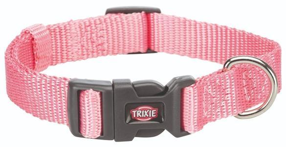 Trixie Collare Regolabile Per Cani Taglia Piccola Cuccioli XS Rosa 22-35 cm