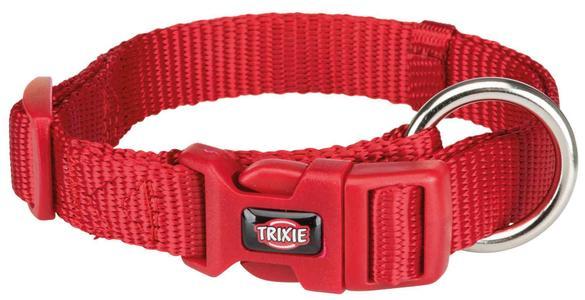 Trixie Collare Regolabile Per Cani Taglia Piccola Cuccioli XXS Rosso 15-25 cm