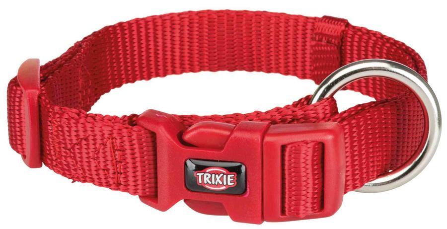 Trixie Collare Regolabile Per Cani Taglia Piccola Cuccioli XS Rosso 22-35 cm