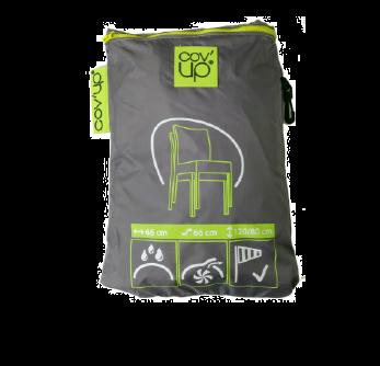 Cover protezione arredo giardino 4 sedie impilate CVD 07