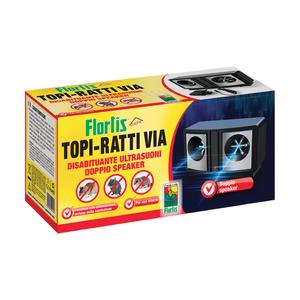 Topi Ratti Via 2 Speaker Ultrasuoni