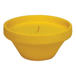 Vaso Caribe in Terracotta con Citronella