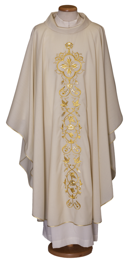 Chasuble with embroidered mantle Cod. 65/013056
