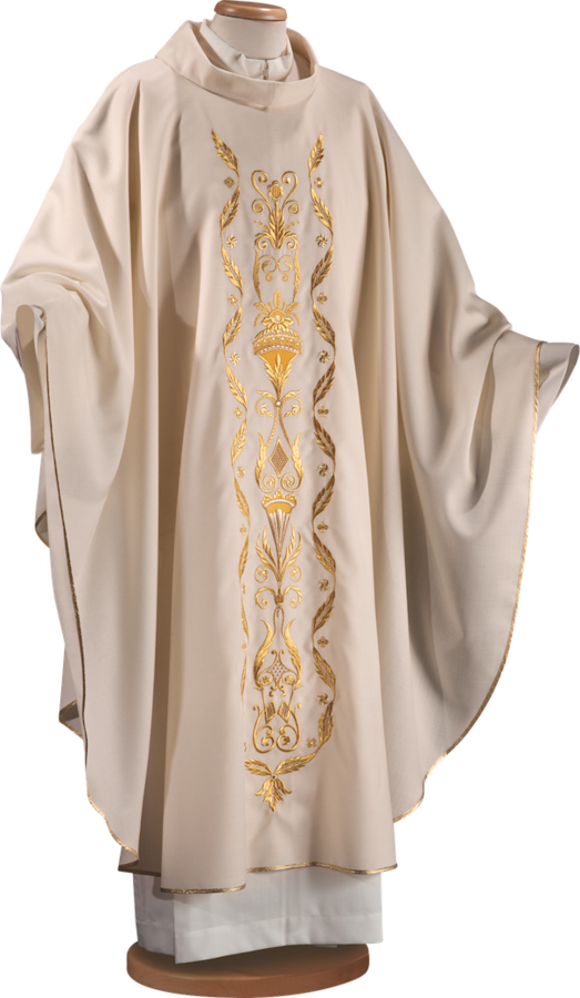 Chasuble embroidered mantle Cod. 65/014910