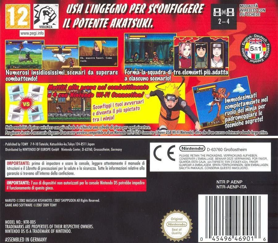 Naruto Shippuden Ninja Council 3 NUOVO! - Nintendo DS - Versione Europea