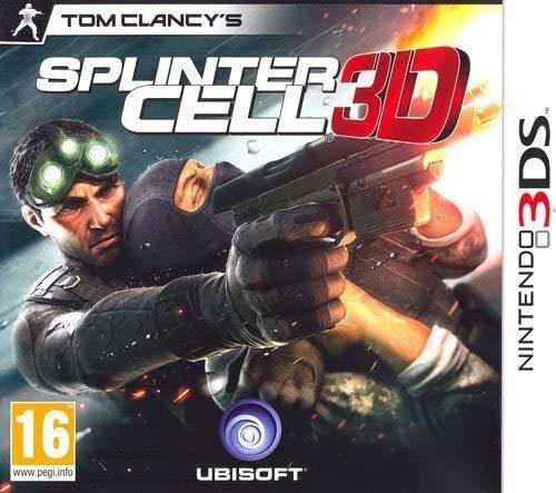 Splinter Cell 3D NUOVO! - Nintendo 3DS - Ver. ITA