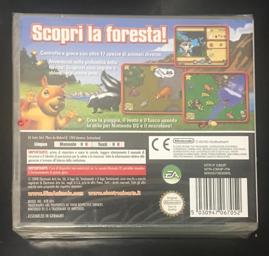 Simanimals Special Edition NUOVO! - Nintendo DS - Ver. ITA