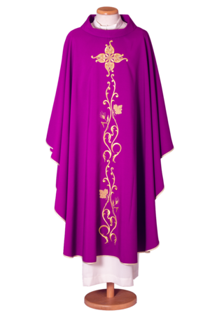 Chasubel in 100% wool Cod. 65.016518ST