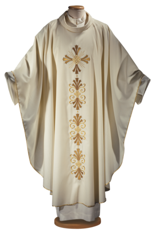 Chasuble with embroidered mantle Cod. 65/014615