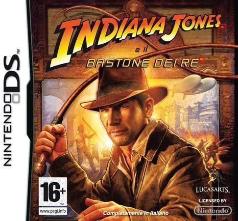 Indiana Jones Il Bastone Dei Re NUOVO! - Nintendo DS - Ver. ITA