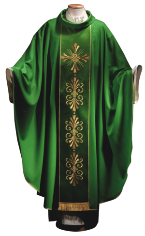 Chasuble  in wool with stolon Cod. 65/014615ST