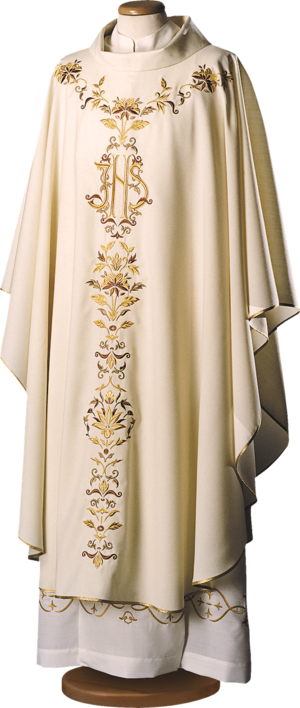 Chasuble with embroidered mantle Cod. 65/033259