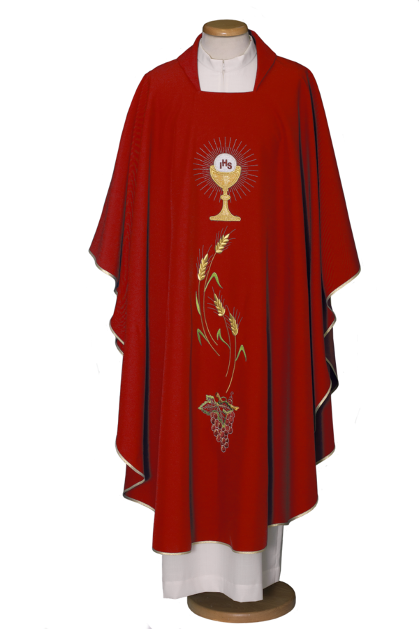 Embroidered chasuble Cod. 65/000305
