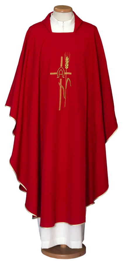 Embroidered chasuble Cod. 65/000461