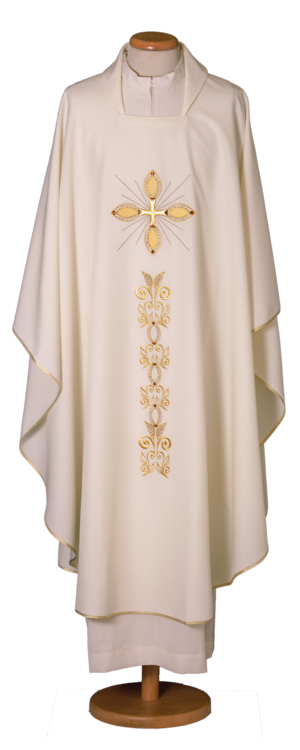Embroidered chasuble Cod. 65/000952